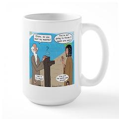 Elijah and Elisha Mantle II Mug