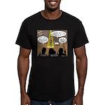 David Wins Israeli Idol Men's Fitted T-Shirt (dark