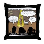 David Wins Israeli Idol Throw Pillow