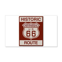 Helendale Route 66 Wall Decal