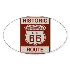Helendale Route 66 Decal