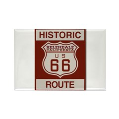 Helendale Route 66 Rectangle Magnet (10 pack)
