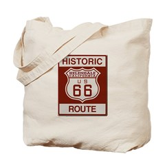 Helendale Route 66 Tote Bag