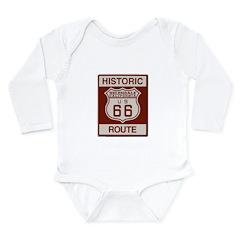 Helendale Route 66 Long Sleeve Infant Bodysuit