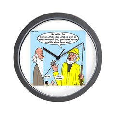 Elijah and Captain Ahab Wall Clock