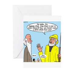 Elijah and Captain Ahab Greeting Cards (Pk of 10)