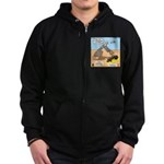 Elijah and Elisha Mantle I Zip Hoodie (dark)