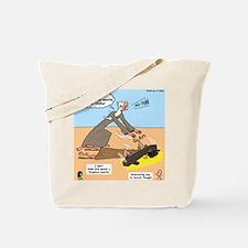 Elijah and Elisha Mantle I Tote Bag
