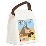 Elijah and Elisha Mantle I Canvas Lunch Bag