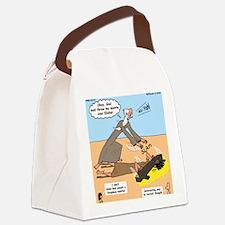 Elijah and Elisha Mantle I Canvas Lunch Bag