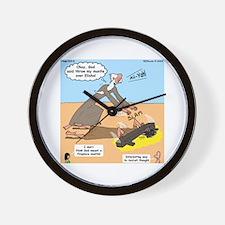 Elijah and Elisha Mantle I Wall Clock