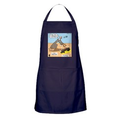 Elijah and Elisha Mantle I Apron (dark)