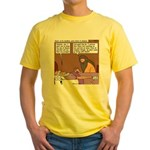 Solomon at David's Deathbed Yellow T-Shirt