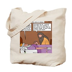 Solomon at David's Deathbed Tote Bag