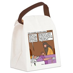 Solomon at David's Deathbed Canvas Lunch Bag