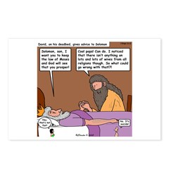 Solomon at David's Deathbed Postcards (Package of