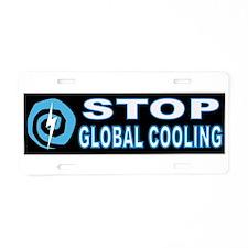 GLOBAL FREEZING Aluminum License Plate