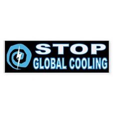 GLOBAL FREEZING Bumper Sticker