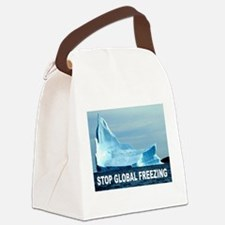GLOBAL FREEZING Canvas Lunch Bag