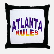 Atlanta Rules Throw Pillow