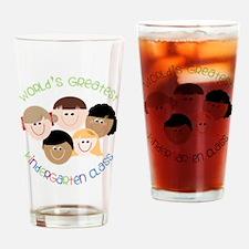 Kindergarten Class Drinking Glass
