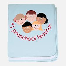 Preschool Teacher baby blanket