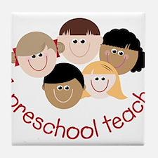 Preschool Teacher Tile Coaster