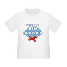 Big Brother to be -Airplane T-Shirt