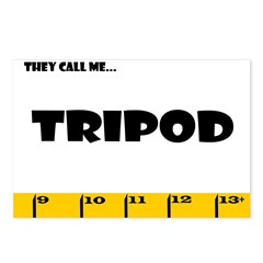 Ruler They Call Me Tripod Str Postcards (Package o