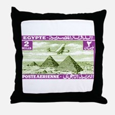 1933 Egypt Airplane Over Pyramids Postage Stamp Th