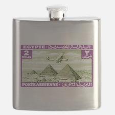 1933 Egypt Airplane Over Pyramids Postage Stamp Fl