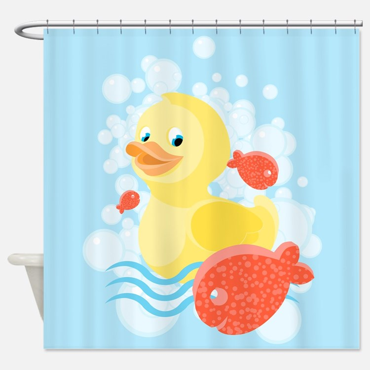 Duck Shower Curtains   Duck Fabric Shower Curtain Liner