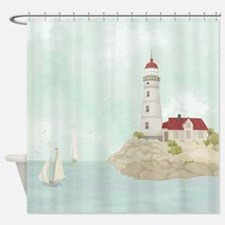 Beautiful Lighthouse Shower Curtain