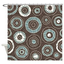 Circles Pattern Shower Curtain