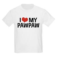 I Love My PawPaw T-Shirt