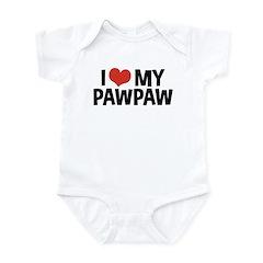 I Love My PawPaw Infant Bodysuit
