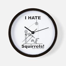 Squirrel Gun Wall Clock