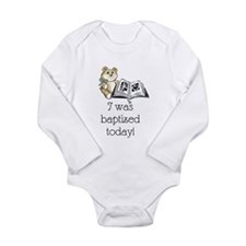 I was baptized today! (Boy) Body Suit