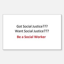 Social Justice Decal