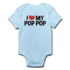 I Love My Pop Pop Infant Bodysuit