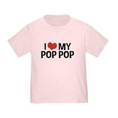 I Love My Pop Pop T
