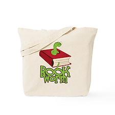 Bookworm Tote Bag