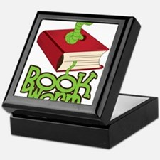 Bookworm Keepsake Box