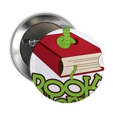 "Bookworm 2.25"" Button"