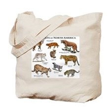 Wildcats of North America Tote Bag