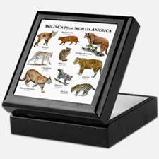 Wildcats of North America Keepsake Box