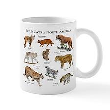 Wildcats of North America Small Small Mug