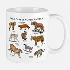 Wildcats of North America Small Small Mug