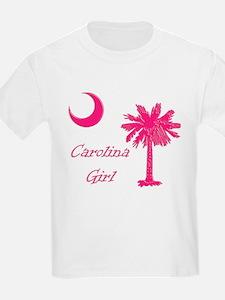 Hot Pink Carolina Girl T-Shirt