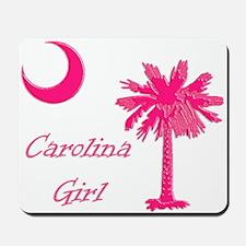 Hot Pink Carolina Girl Mousepad